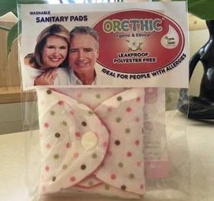 Orethic Washable Sanitary Pads